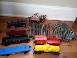 Vintage Lionel Train Tracks/transformer 15 Curve, 12 Straight, Trains And Cars