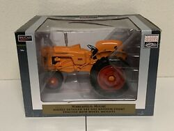 Minnieapolis Moline 445 Gas Narrow Front Tractor With Wheel Weights. Speccast