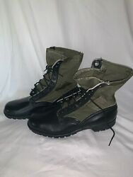 Vietnam Us Army Usmc Military Spike Protective Jungle Boots Cic 1967 Men 11n