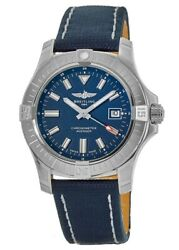 New Breitling Avenger Automatic 43 Blue Dial Menand039s Watch A17318101c1x1