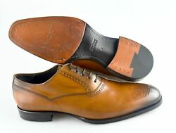 Men's TO BOOT NEW YORK 'Salinger' Brown Leather Oxfords Size US 7 - D