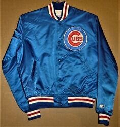 Chicago Cubs Royal Blue Snap Front Jacket Inventory Number 5-0202