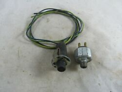 Vintage 1950and039s Ford Car Interior Door Contact Switch And Stop Light Switch