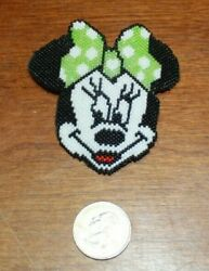 New Native American Beaded Minnie Mouse Hair Barrette Free Shipping
