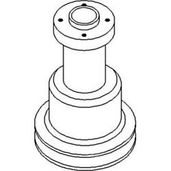 303061345 Water Pump Pulley Made For White Oliver Mpl Moline Tractor Model 1850