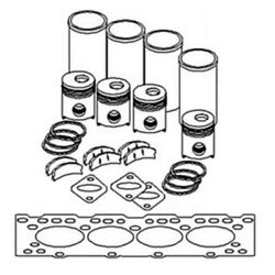 Ik192 New In Frame Engine Overhaul Kit Fits Ford Fits New Holland Tractor 4000