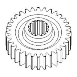 381506r1 New Pto Drive Gear Fits Case-ih Tractor Models 986 966 886 856 +