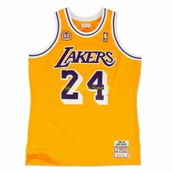 Kobe Bryant Los Angeles Lakers 60th Anniversary 2007 Mitchell And Ness Jersey M 40