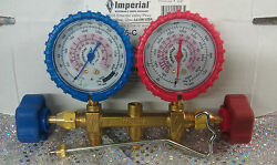 Imperial 2-valve Manifold Model 415-c R410a Psi And Kpa 400 Series