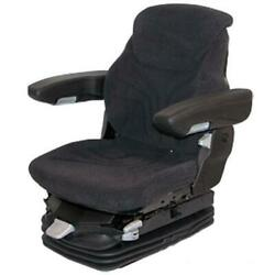 Msg95ggrc-assy Grammer Air Ride Charcoal Grey Seat Fits Case-ih Fits Massey Ferg