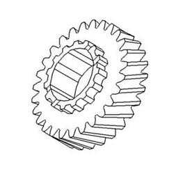 70246531 2nd Gear Fits Allis Chalmers Ac Tractor Models 180 185 190 190xt 200