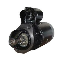 Sba185086350 Starter 12v Fits Ford Fits New Holland Compact Tractor 1900 1910 21