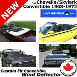 Love The Drive Convertible Wind Deflector For 68-72 Chevy Chevelle/buick Skylark