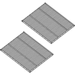 Ah131217 Two Round Hole Bottom Sieves Fits John Deere Cts Cts Ii T550 T560 W540