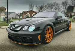Mercedes Cl W215 Cl500 Cl55 Amg Cl63 Amg Black Series Body Kit 1998-2006 Look