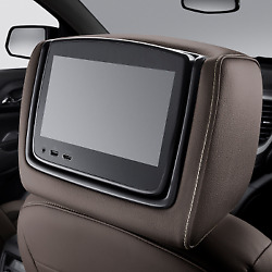 Genuine Gm Headrest And Video Screen Assembly 84690223