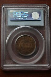 1900, Pcgs Graded Canadian, Large One Cent, Ms-64