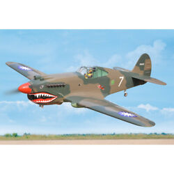 P-40c Tomahawk Artf 60cc Gas Including Electrict Retract Covered With H