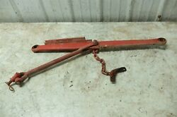 Ford 8n 8 N Tractor 3 Point Hitch Left Rod Bar