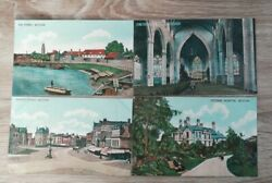 The Ferry. Market Place Cottage Hospital St Botolph#x27;s 4 Boston Postcards 230ad