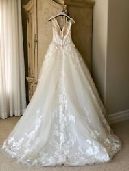Sybil Ivory/antique Size 6 Pre-owned Wedding Gown
