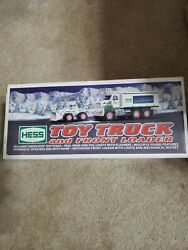2008 Hess Toy Truck And Front End Loader  Mint In Box