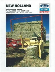 Farm Tractor Brochure - Ford New Holland - Product Line Overview - 1990 F7023
