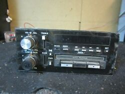 Vintage Delco Model 16073574 Radio Cassette Player Receiver Oem Stereo Audio