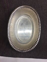 Reed And Barton Bowl - Midcentury Modern - American Sterling Silver Ribbed Bowlt14
