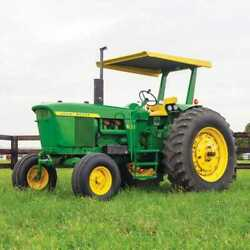 Tractor Canopy And Certified Rops - Metal Fits John Deere 4010 4000 3020 4020