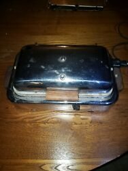 Super ELECTRIC Waffle iron griddles vintage Art Deco Style