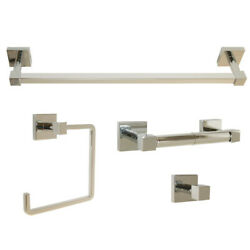 Design House 188540 Karsen Bathroom Accessory Set - Chrome