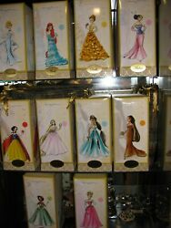 DISNEY FAIRYTALE DESIGNER COLLECTION ORIGINAL 10 DOLLS WITH GIFT BAGS NEW $1,999.98