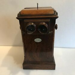 Vintage Stereotype Table Top And Double Family Viewer