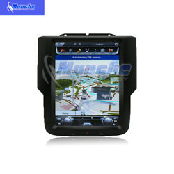 10.4 Android 7 Vertical Screen Car Gps Radio 32gb For Dodge Ram 3500 2013-2019