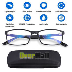 Anti Blue Light Reflecter Computer Gaming Reading Glasses UV Blocking Protection $13.64