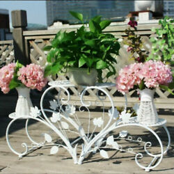 Classic Tall Plant Stand Art Flower Pot Holder Rack Planter Outdoor Indoor Patio