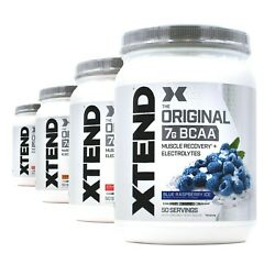 Scivation Xtend Original 7g Bcaa Muscle Recovery 50 Servings 4 Flavors - Sale