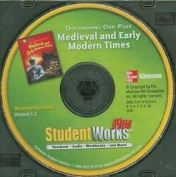 Glencoe Discovering Our Past Medieval And Early Modern Studentworks Plus Pc Mac Cd