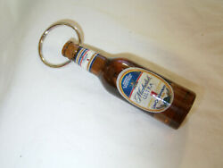 Vintage Rare Michelob Ultra Brown Beer Bottle With Penis In Middle Key Chain.