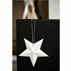 White Hanging Paper Star DIY Decorations Wedding Christmas Party x 6