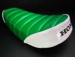 Honda Motorcycle Custom Parts Monkey Low Down Tack Roll Seat Green/white New