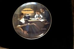 Father's Help Light Campaign Series Collectable Decorative Plate