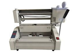 Wireless Desktop Manual Hot Glue Book Binding Binder Machine11.6and039and039andtimes16.5and039and039