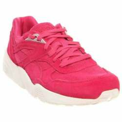 Puma R698 Mesh Evolution Sneakers Casual    - Pink - Mens