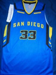 San Diego Guardians Jeremee Mcguire 33 Aba Basketball Jersey Adult Large