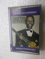 Charlie Christian The Genius Of The Electric Guitar Rare Orig Cassette Tape