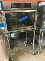 Blickman Bw 7925tg Warming Cabinet With Glass Doors And Portable Stand New