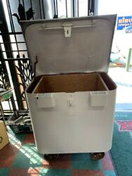 Antique Ammo Vault On Wheels In Store Puck Up Only