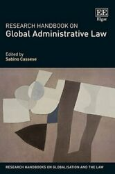 Research Handbook On Global Administrative Law By Sabino Cassese Used